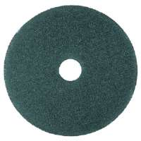 "Cleaner Floor Pad 5300, 13"", Blue, 5 Pads/Carton"