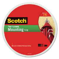 Foam Mounting Double-Sided Tape, 3/4 Wide x 350 Long