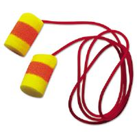 E�A�R Classic SuperFit 33 Single-Use Earplugs, Cordless, 33NRR, Yellow/Red
