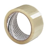 "Package Sealing Tape, 1.88"" x 54.6 yards, Clear"