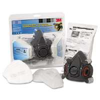 Half Facepiece Paint Spray/Pesticide Respirator, Large