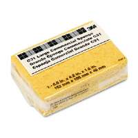 Commercial Cellulose Sponge, Yellow, 4-1/4 x 6