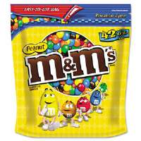 CANDY,M&M,PEANUT,42OZ BAG