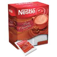 Instant Hot Cocoa Mix, Rich Chocolate, 0.71 oz Packets, 50/Box