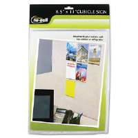 Clear Plastic Sign Holder, All-Purpose, 8 1/2 x 11