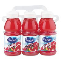 Red Ruby Grapefruit Juice, 10 oz. Bottle, 6 per Pack