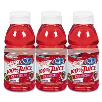100% Juice, Cranberry, 10 oz. Bottle, 6 per Pack
