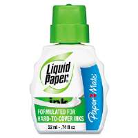 Pen & Ink Correction Fluid, 22 ml Bottle, White