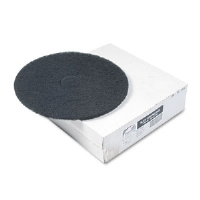 Heavy-Duty Floor Stripping Pads, Black