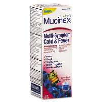 Multi-Symptom Liquid Cold Formula, Berry Blast, 4 oz Bottle
