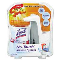 No-Touch Kitchen System, 8.5 oz, Plastic, Tangerine
