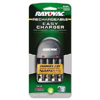 Four-Position Battery Charger, Includes Four Precharged Batteries