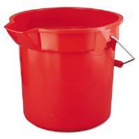Brute Utility Pail, 14 qt, Red