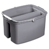 Brute Utility Pail, Double, 17 qt, Gray