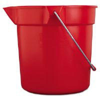 Brute Utility Pail, 10 qt, Red