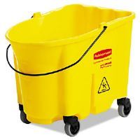 WaveBrake Bucket, 8.75gal, Yellow
