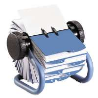 Rolodex� Open Rotary Business Card File