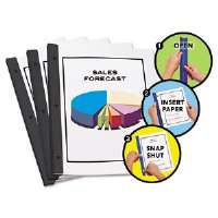 SPINES,REDI-BIND,12/PK,BK