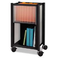 Impromptu Mobile Storage Center, 18-3/4w x 16d x 26-1/2h, Black