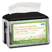 Xpressnap Tabletop Napkin Dispenser, 5.8w x 7.8d x 6.2h, Black