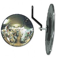 160 degree Convex Security Mirror, 18&quot; dia.
