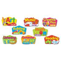 Primary Center Signs Mini Bulletin Board Set