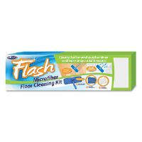 Flash Microfiber Floor Care Kit, 13""