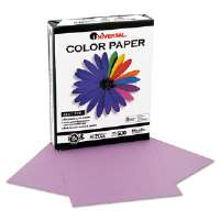 Colored Paper, 20lb, 8-1/2 x 11, Orchid, 500 Sheets/Ream