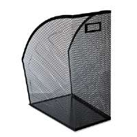Mesh Jumbo Magazine File, Black