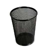 Jumbo Mesh Pencil Cup, Black