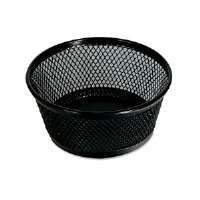 Jumbo Mesh Clip Dish, Black