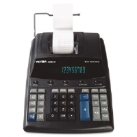1460-4 Extra Heavy-Duty Two-Color Printing Calculator, 12-Digit Display