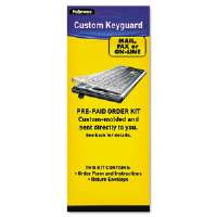 Fellowes US Mail Order Keyguard Kit - keyboard