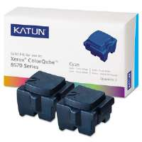 KAT39395 ColorQube 8570 Compatible, 108R00926 Solid Ink, 4400 Yld, 2/Box, Cyan