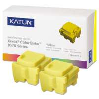 KAT39399 ColorQube 8570 Compatible, 108R00928 Solid Ink, 4400 Yld, 2/Box, Yellow