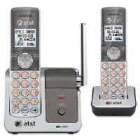 DECT 6.0 Cordless Phone System, 2 Handsets-CL81201