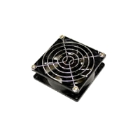 Bgears 60mm Steel Chrome Finished Fan Grill - 60 x 60 x 2mm