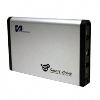 "CP Technologies USB 2.0 2.5"" Hard Drive enclosure with One Button BackUp"