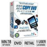 Bling 123 Copy DVD Platinum Software - Bilingual, Copy, Burn & Convert Videos, Video Editor, Audio Converter (081319)
