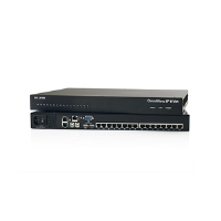 Belkin OmniView IP 5216K KVM Switch - 2/16x Ports, CAT5, SMB KVM-over-IP, PS/2, VGA, USB, Black