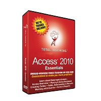 TOTAL TRAINING FOR MICROSOFT ACCESS 2010: ESSENTIA