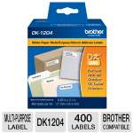 Brother QL500/550 Multi-Purpose Label (400 Labels)
