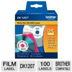 Brother QL500/550 CD/DVD Film Label (100 Labels)