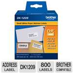 Brother QL500/550 Small Address Label (800 Labels)
