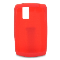 RIM Rubber Cell Phone Skin For Blackberry 8300 - Red