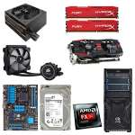 AMD FX-8300 CPU/Asus M5A97 R2.0 ATX MB/2 x 8GB DDR3 1866 Kingston HyperX Memory/2TB Seagate HDD/8GB Asus Radeon 390X VGA/Corsair H75 Liq. CPU Cooler/TT Versa H23 Case w/TT SMART 750W Bronze PSU