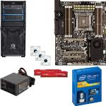 Intel� Core� i7-4820K Processor and ASUS Sabertooth X79 TUF Edition 5 years warranty and Kingston HyperX Fury Red 4GB Memory Module and Kingwin 120mm LED Case Fan and SolidGear 650W Power Suppl Bundle