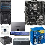 Intel� Core� i7-4790 Processor and ASUS SABERTOOTH Z97 MARK2 ATX Motherboard and ADATA XPG V1 4GB Desktop Memory and Samsung 840 EVO 120GB SSD and LG Super Multi Blue Internal Blu-Ray Burner  a Bundle
