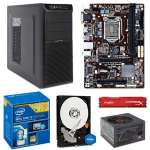 Intel Core i3-4150 3.5GHz Dual-Core CPU/Gigabyte GA-B85M-HD3-A mATX MB/4GB DDR3 1866 Kingston HyperX Fury Red Memory/1TB WD Blue 7200rpm SATA HDD/Ultra X-Blaster V2 Case w/450W PSU Barebones