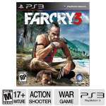 Ubisoft Far Cry 3 34631 Playstation 3 Game - ERSB M, Action